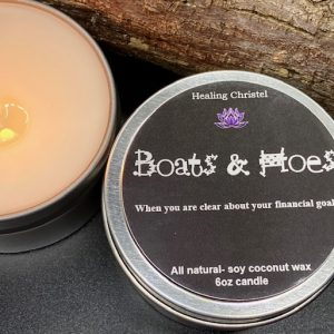 boats and hoes travel tin man candle